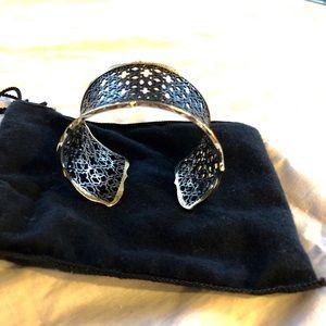 Kendra Scott cuff bracelet. Never worn.